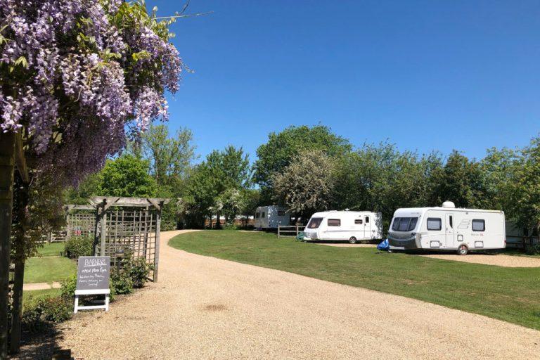 Old Brick Kilns caravan and camping park at Barney.