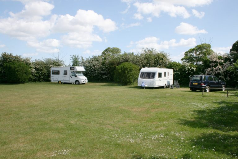 Shrublands CL site for caravans and motor homes in Wighton.
