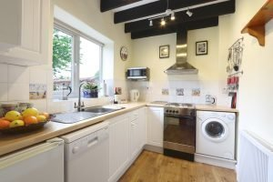 The kitchen at Antwis Cottage holiday rental in Binham.