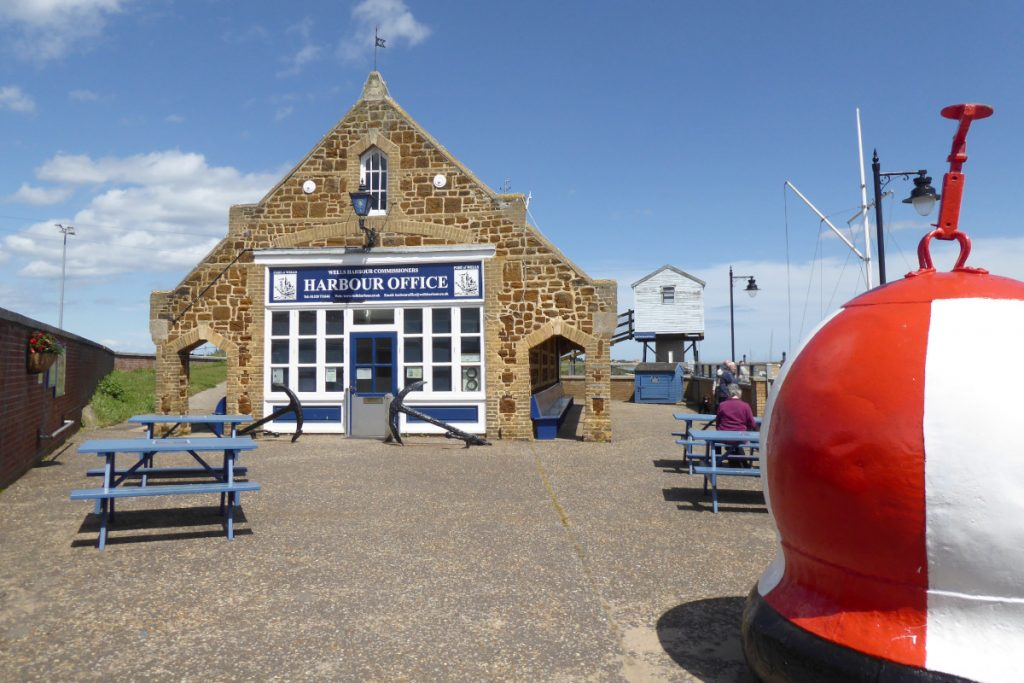 The Harbour Office at Wells-next-the-Sea.
