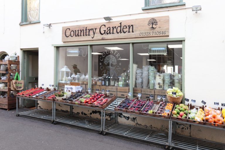 Country Garden green grocer in Wells-next-the-Sea.