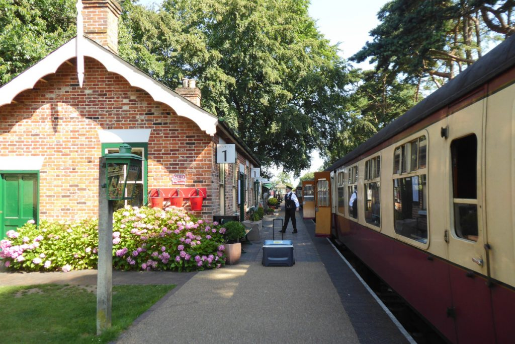 Holt Station on The Poppy Line in North Norfolk.