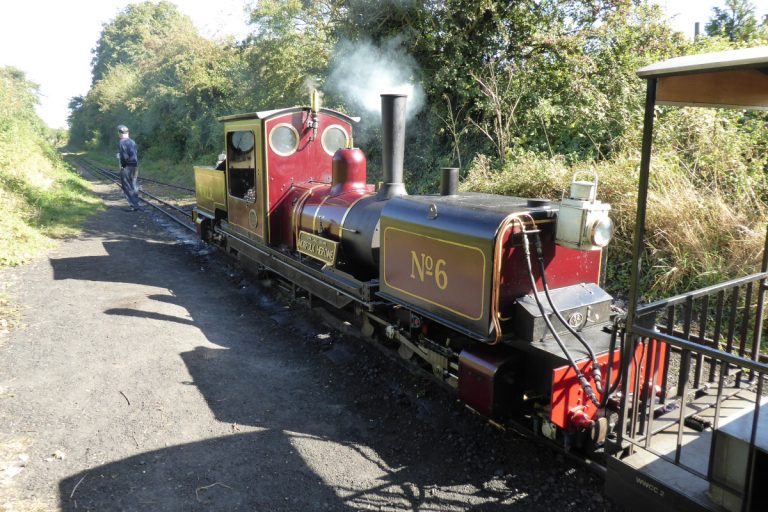 The Wells and Walsingham Light Railway steam engine.